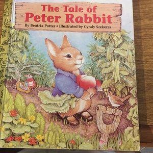Vintage Little Golden Bk The Tale of Peter Rabbit